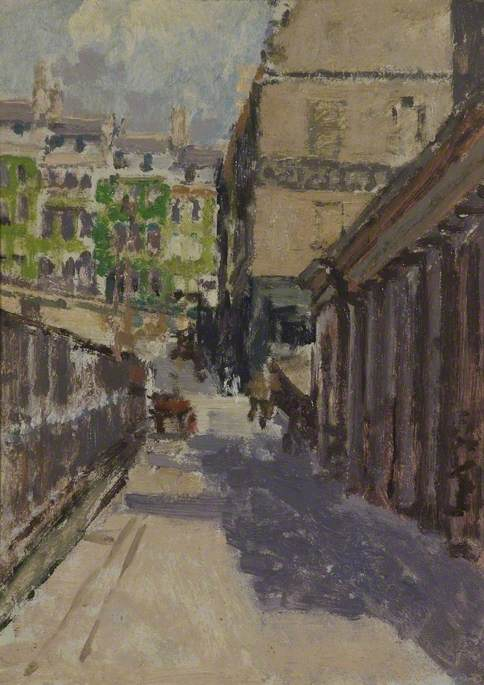 famous painting Belmount and Back of Assembly Rooms of Walter Richard Sickert