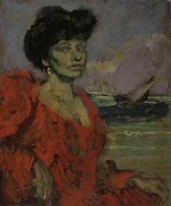 Walter Richard Sickert - Mrs Swinton