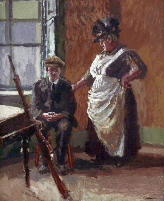 famous painting Sinn Féiners of Walter Richard Sickert