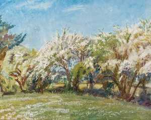 Alfred James Munnings - May Blossom