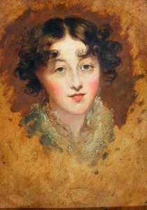 Thomas Lawrence - Head of a Lady
