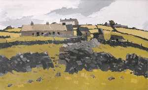 John Kyffin Williams - Dyfryn, Cesarea