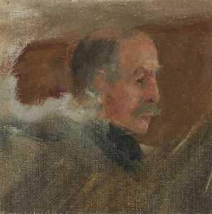 Herbert Arnould Olivier - Admiral William Shepherd Benson (1855–1932), US Naval Representative (preparatory study for 'Terms of Armistice, 3rd and 4th November 1918')