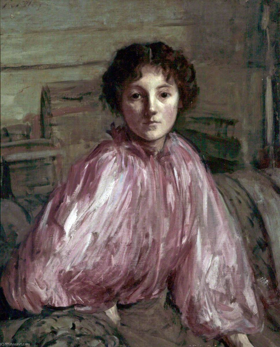 famous painting Molly Dixon of Philip Wilson Steer