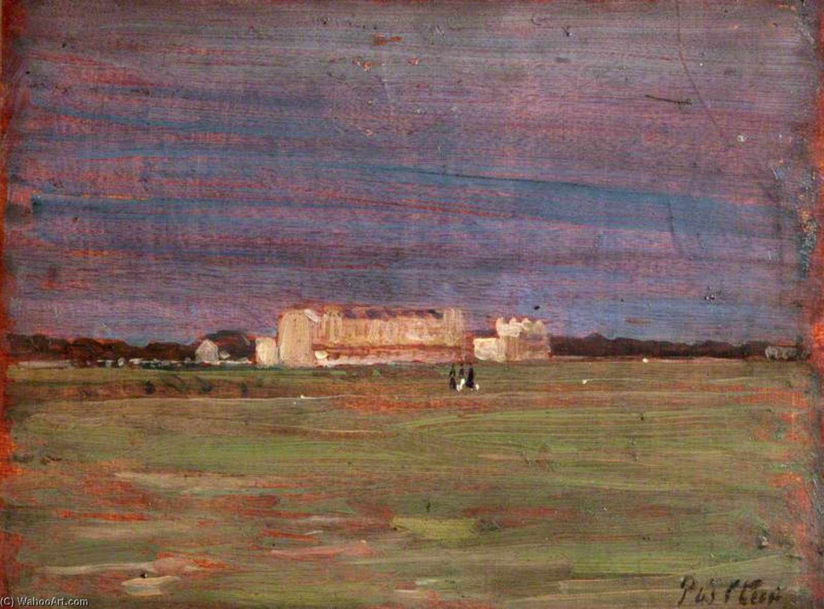 famous painting Hayling Island of Philip Wilson Steer