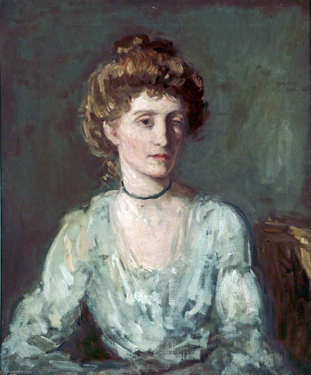 famous painting Mrs D. S. MacColl (sketch) of Philip Wilson Steer