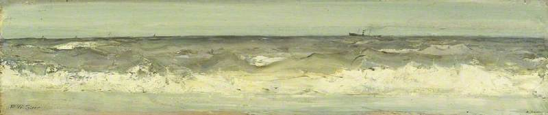 famous painting Surf of Philip Wilson Steer