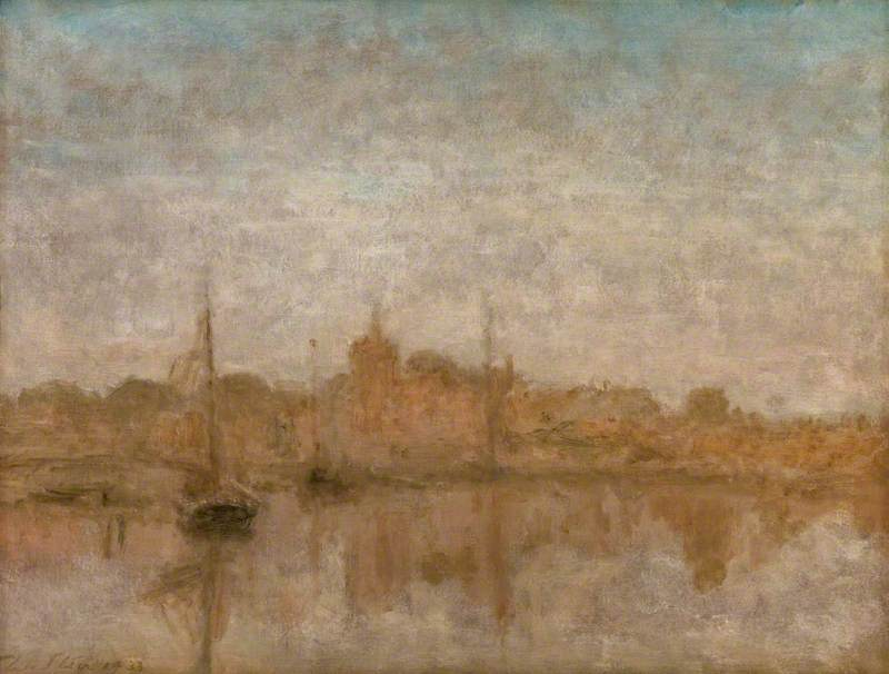 famous painting Maldon of Philip Wilson Steer