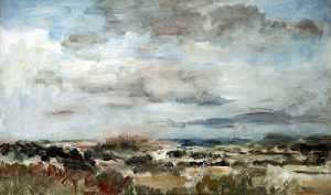 Philip Wilson Steer - Distant View of Bridgnorth, Shropshire
