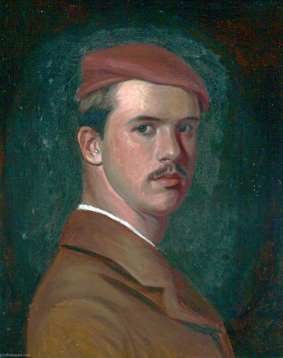famous painting Self Portrait as a Young Man of Philip Wilson Steer