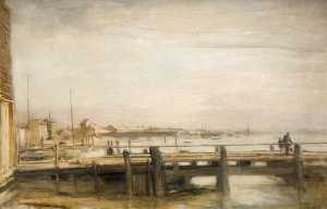 Walter Westley Russell - The Little Quay, Shoreham