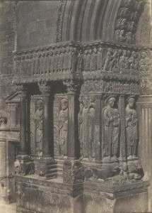 Charles Nègre - Portal Sculptures, Church of Saint Trophime, Arles