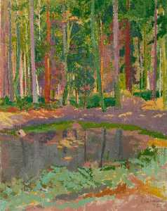 Malcolm Drummond - Wooded Pond