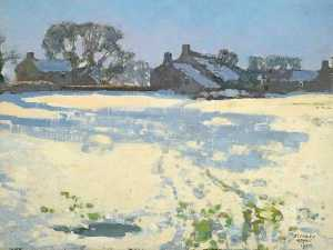 Stanley Royle - Bright Winter Morning