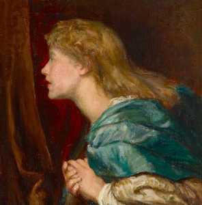 Clare Atwood - Dame Ellen Terry (1847–1928), as a Young Woman (after the original of 1864 1865 by George Frederic Watts)
