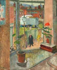 Harry Rutherford - View from the Studio Window, Hyde