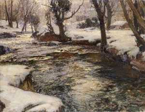 Samuel John Lamorna Birch - Winter in the West
