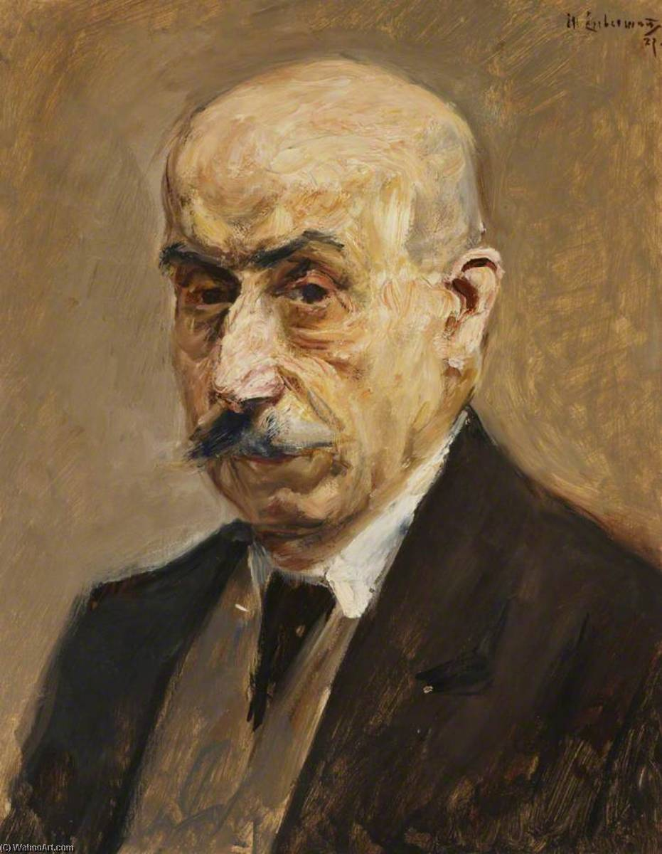 famous painting Self Portrait of Max Liebermann