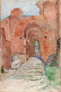 Cass Gilbert - Arches of Palace of Nero