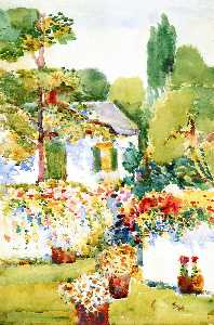 Annie G Sykes - Flowering Wall