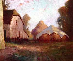 Georges Ames Aldrich - Haystacks