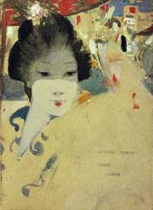 George Henry - Japanese Beauty