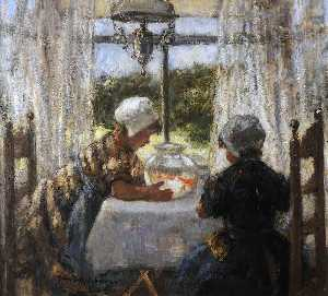 Robert Gemmell Hutchison - Goldfish Bowl