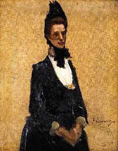 John Lavery - Lady Balfour of Burleigh (sketch)