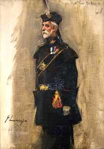 John Lavery - Major General Kirkland (sketch)