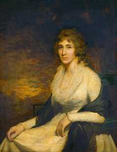 Henry Raeburn - Mrs George Hill