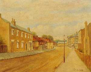 Ernest A. L. Ham - The Green, Southall (now King Street)