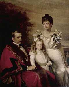 Henry Weigall - Sir John George Blaker and Family