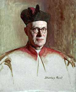 Stanley Reed - The Right Reverend Monsignor Joseph Turner, Rector of Upholland College