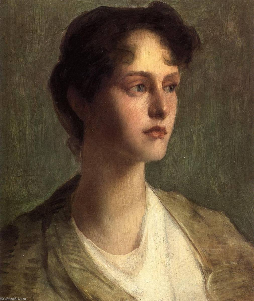 famous painting Ideal Head of Julian Alden Weir