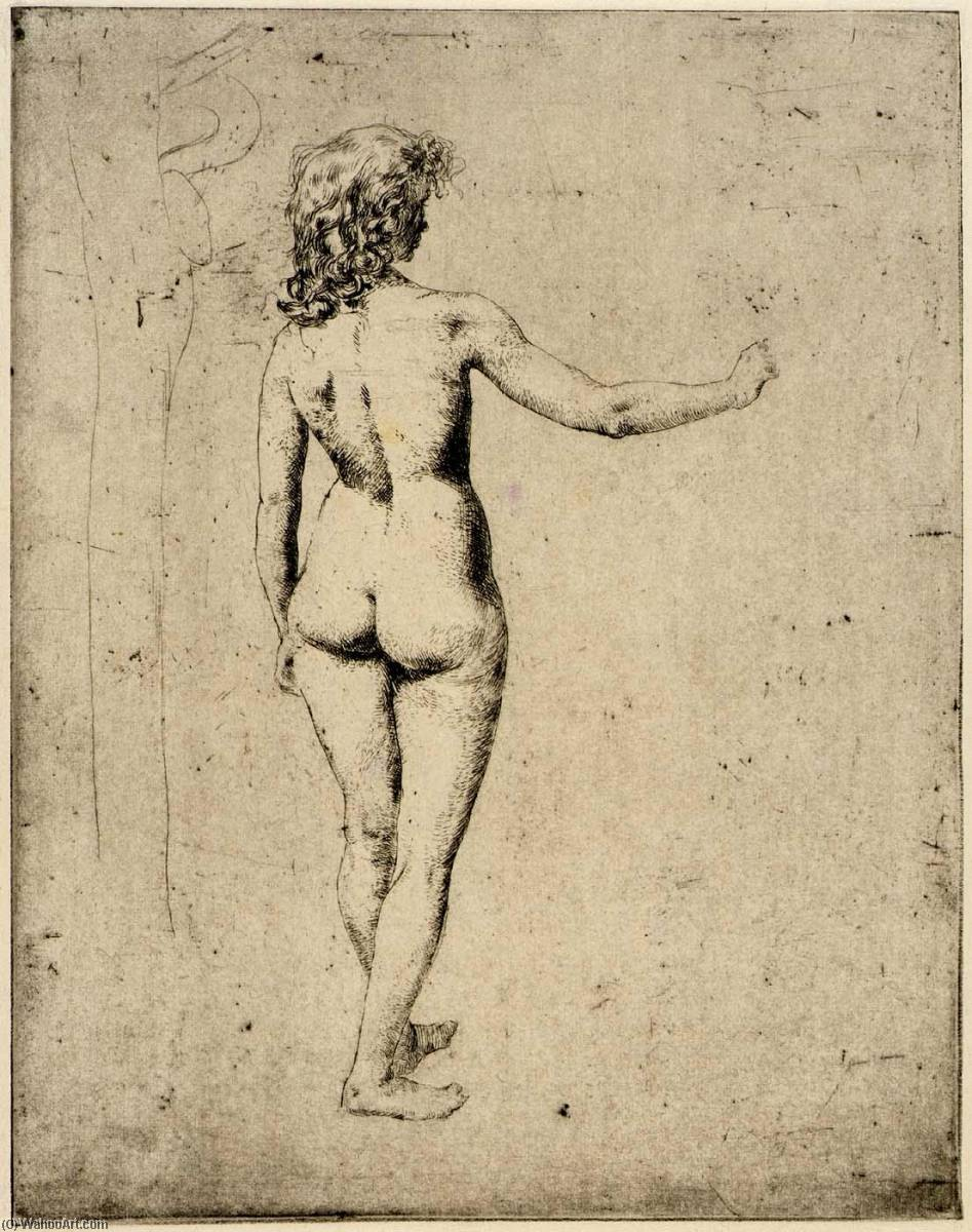 famous painting Nude Study of Julian Alden Weir