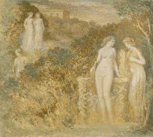 Edward Calvert - The Garden of Culture