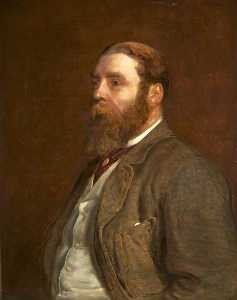 Beatrice Bright - Sir William Henry Wills, Esq., MP (Lord Winterstoke) (copy of Edward John Gregory)