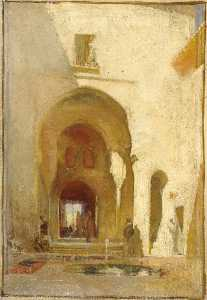 George Murray - A Doorway in the Alhambra