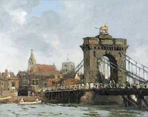Albert Ernest Bottomley - Norfolk Bridge, Shoreham