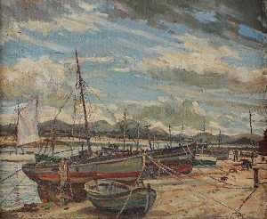 Trevor Makinson - Fishing Boats