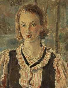 Ethel Walker - Portrait of a Girl