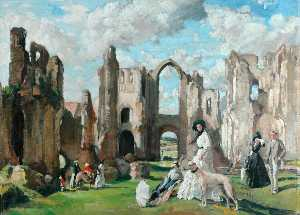 Philip Connard - The Abbey Ruins