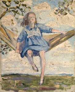 Elizabeth Muntz - Child in a Hammock