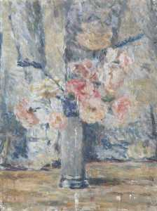 Alan Francis Clutton Brock - Flowers in a Vase