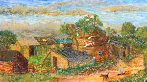 James Bentley - A Derelict Buckley Pottery, 1956