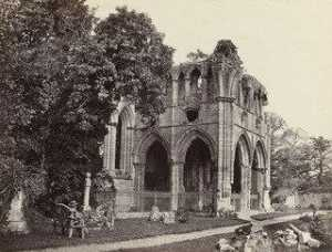 Francis Frith - Dryburgh Abbey, Sir Walter Scott's Tomb