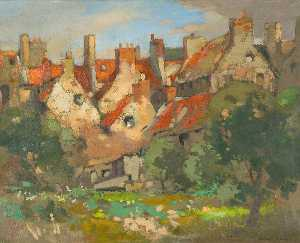 John Guthrie Spence Smith - Red Roofs