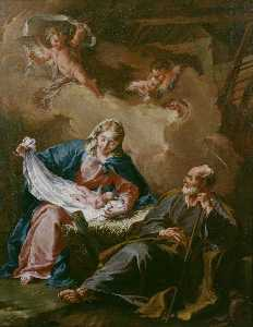 Giovanni Battista Pittoni The Younger - Holy Family