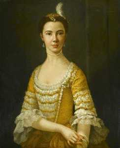 George Paul Chalmers - Mary Russell (d.1813), Daughter of Colonel Charles Russell