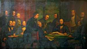 Henry Wyndham Phillips - The Royal Commissioners for the Exhibition of 1851